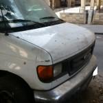 רכב GMC עובר לפירוק