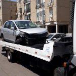 קונה רכב אחרי תאונת דרכים לפירוק